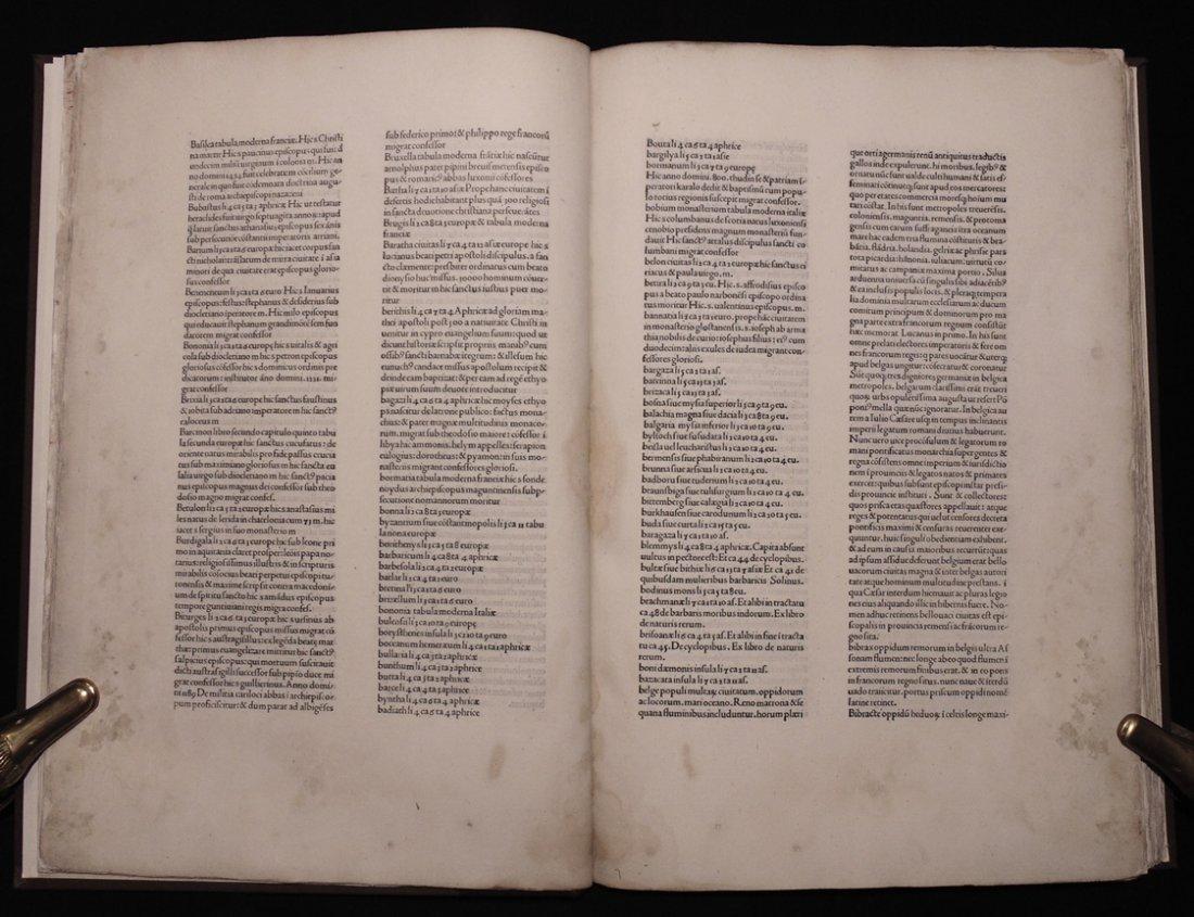 Ptolemy.  Cosmographia, 1490 - 4