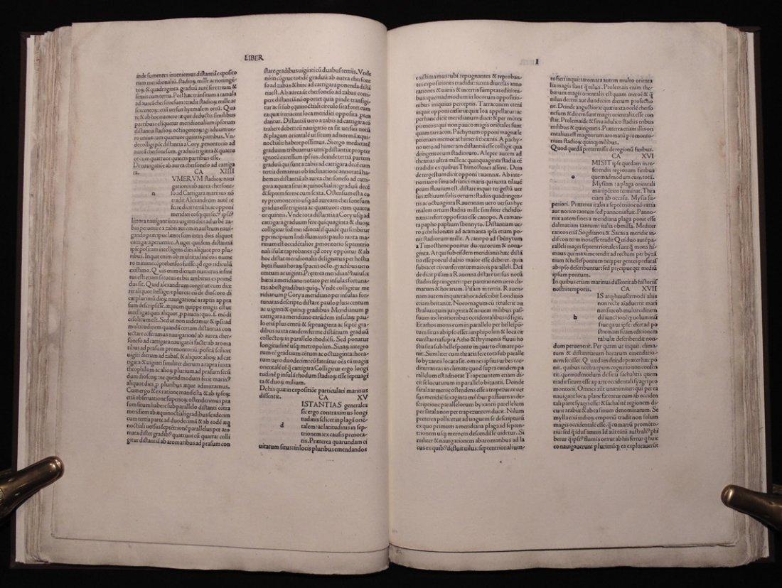 Ptolemy.  Cosmographia, 1490 - 6