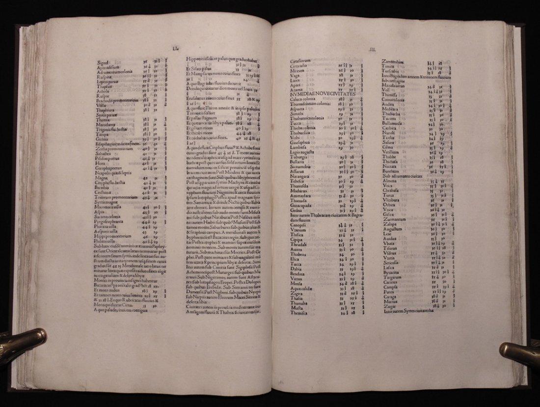 Ptolemy.  Cosmographia, 1490 - 7