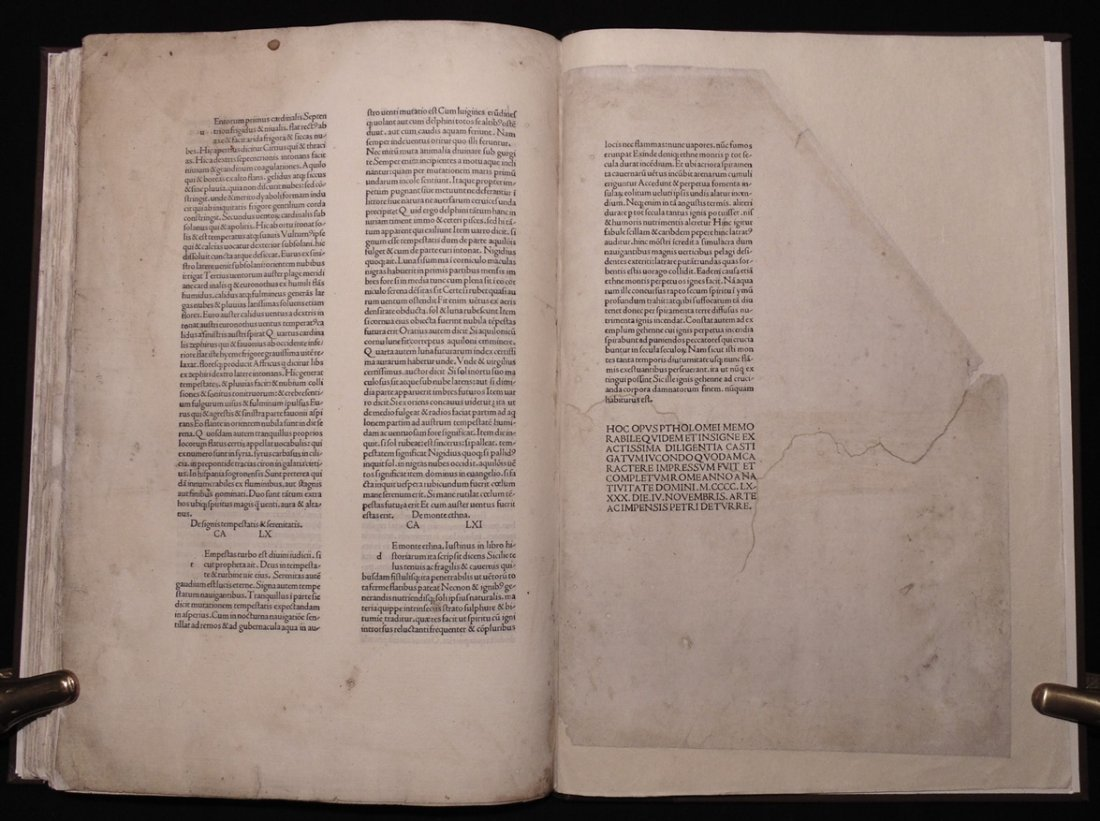 Ptolemy.  Cosmographia, 1490 - 8