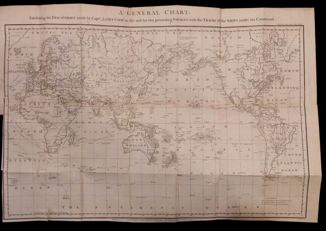 Capt. James Cook's Voyage to the Pacific Ocean - 6