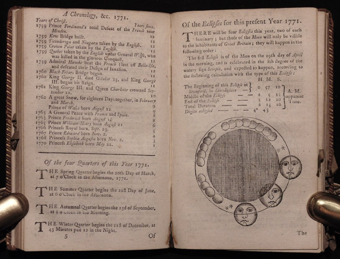 [18th C. Almanacs]
