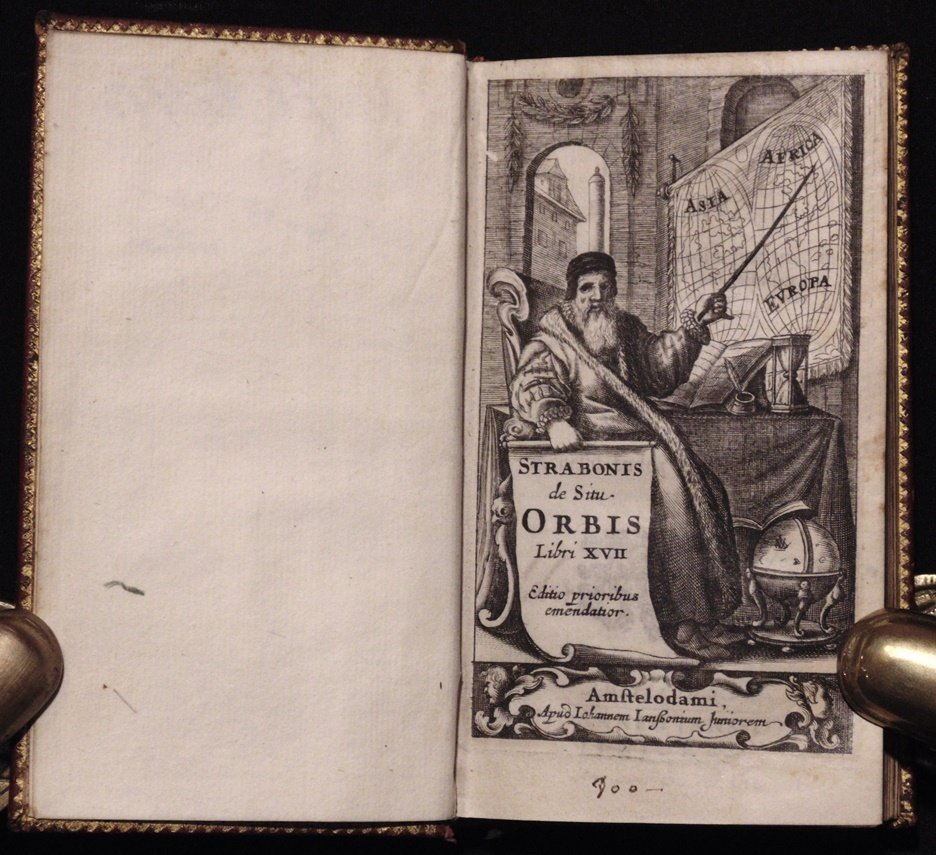 [Geography]  Strabonis de situ Orbis, 1652 - 4