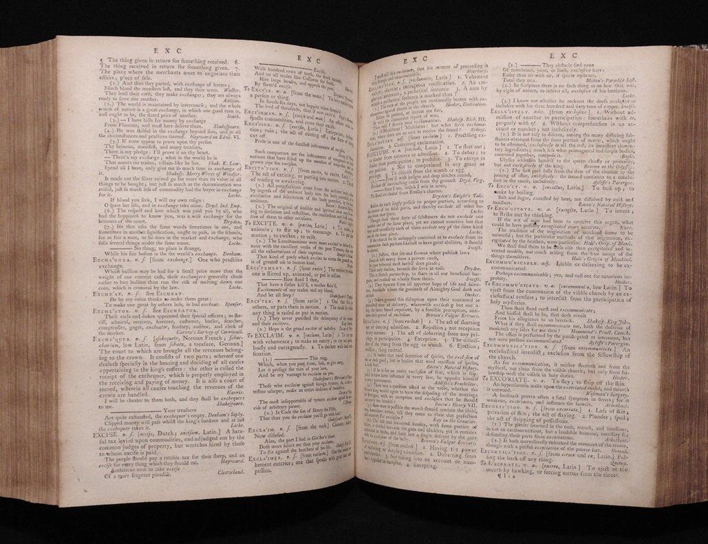 Johnson's Dictionary of the English Language - 5