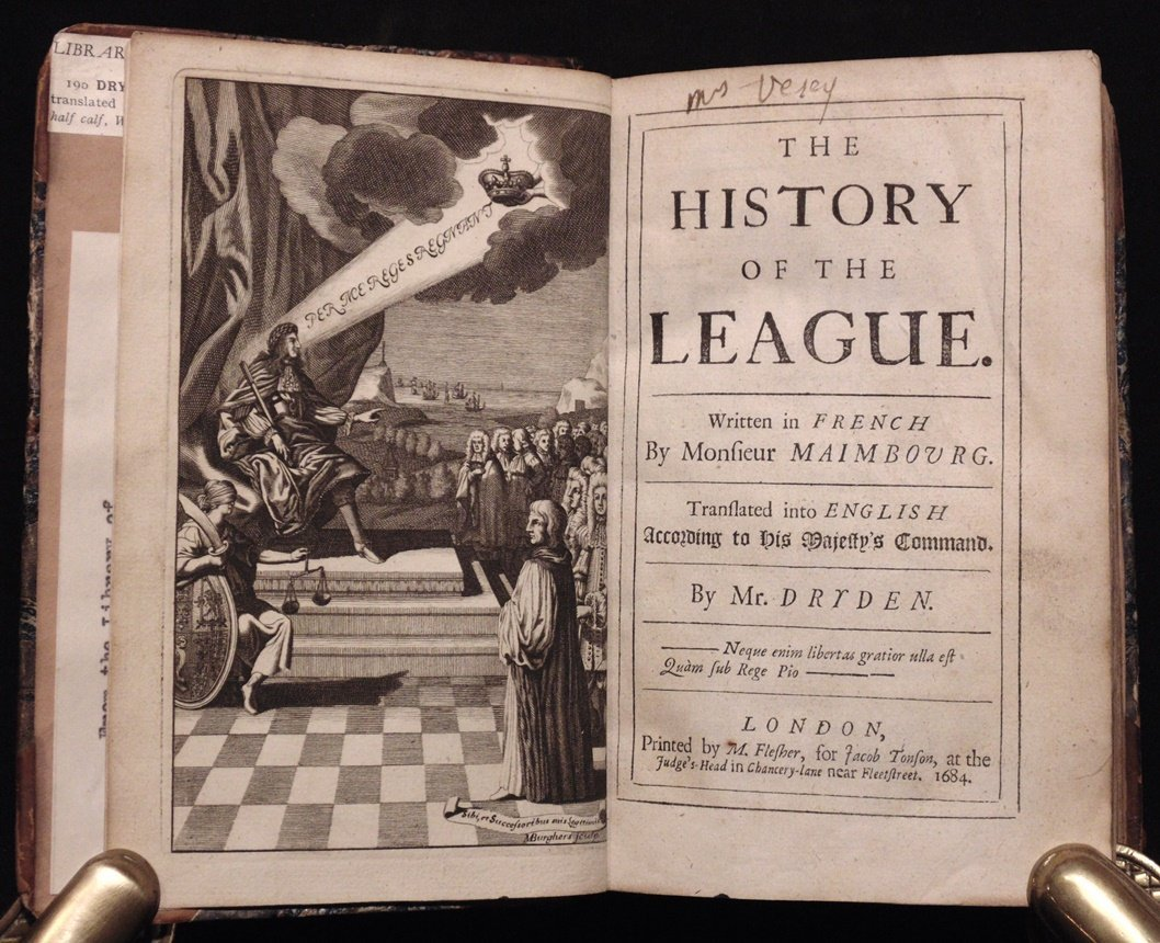 Maimbourg.  History of the League