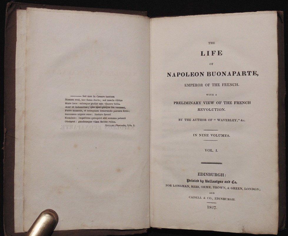 Scott's Life of Napoleon Buonaparte - 3