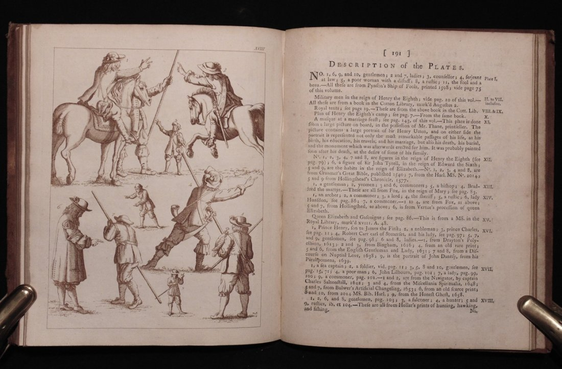 Strutt, Joseph. Compleat View of the Manners … - 3