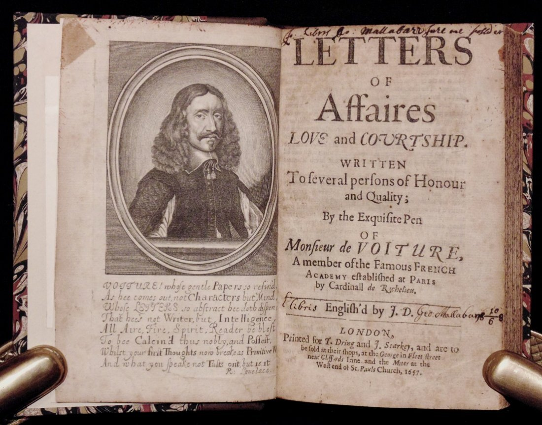 Voiture on Affaires, Love, and Courtship