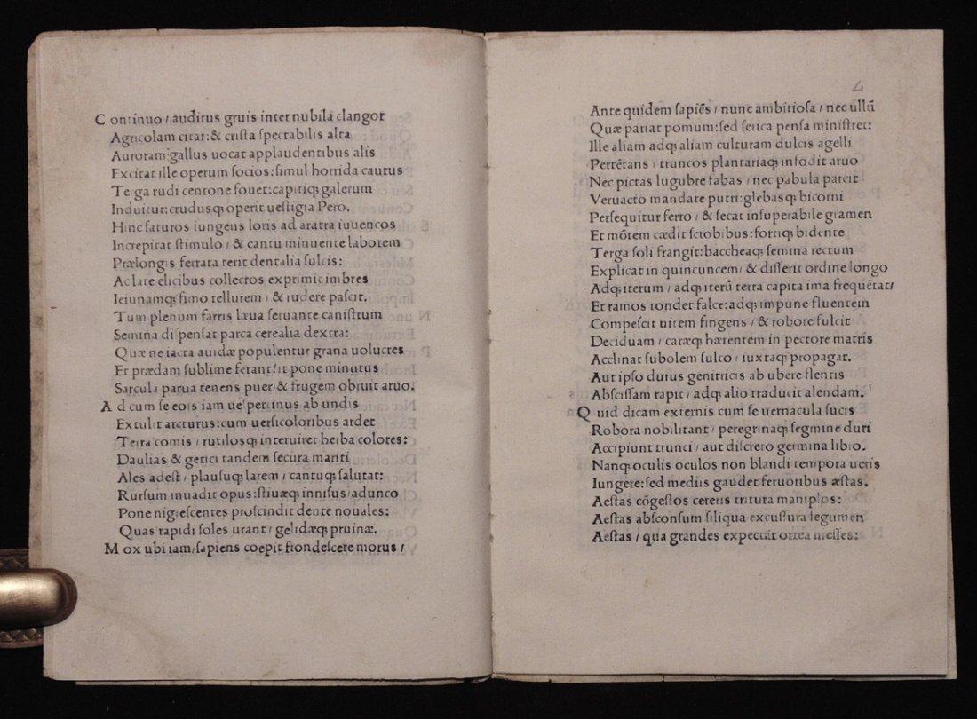 [Incunabula]  Angelus Politianus.  Silva cui Titulus - 3