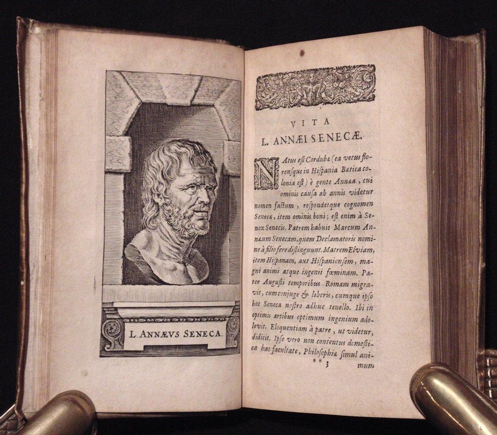 Seneca.  Opera Omnia.  Elzevir, 1649 - 5