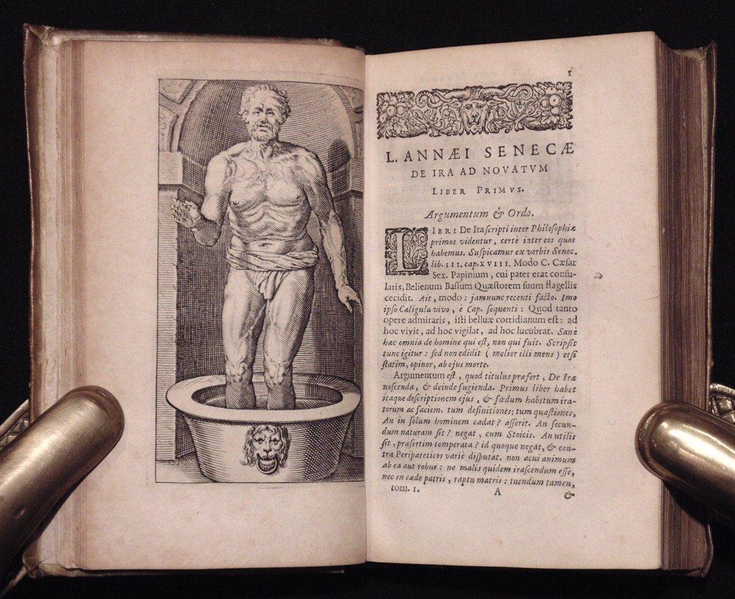 Seneca.  Opera Omnia.  Elzevir, 1649 - 6