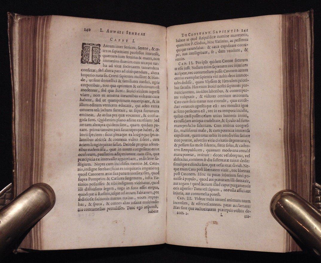 Seneca.  Opera Omnia.  Elzevir, 1649 - 7