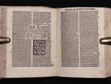 [Incunable Bible, Illustrated]