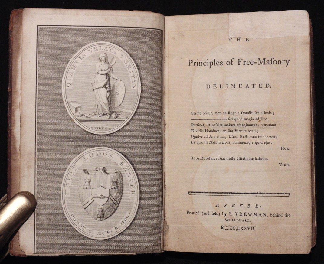 [Freemasonry]  Principles of Freemasonry