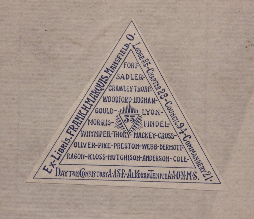 [Freemasonry]  Principles of Freemasonry - 7
