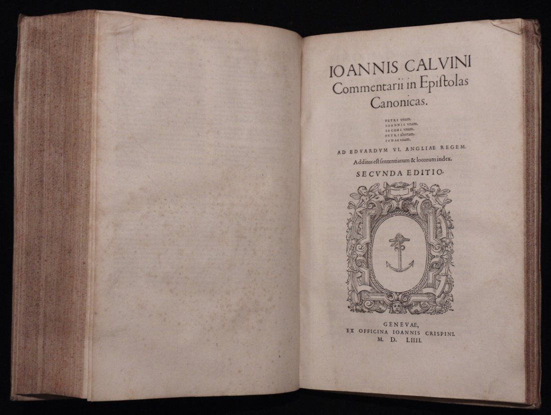 John Calvin [New Testament Commentary] - 7