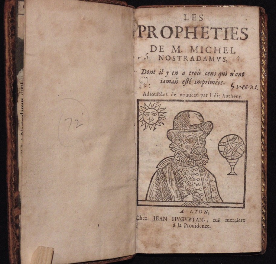 Nostradamus.  Les Propheties, [1644] - 2