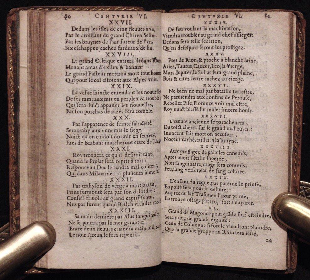Nostradamus.  Les Propheties, [1644] - 4