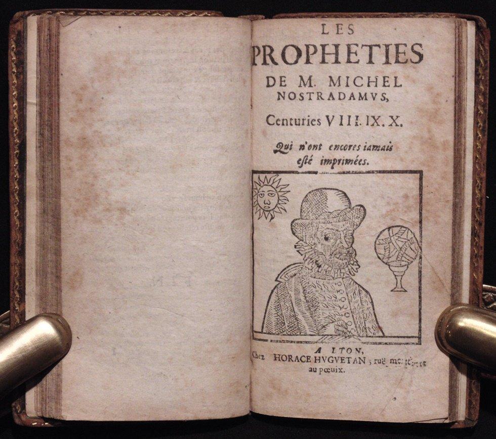 Nostradamus.  Les Propheties, [1644] - 5