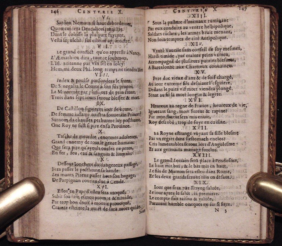 Nostradamus.  Les Propheties, [1644] - 6
