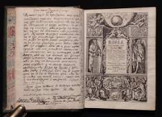 The Holy Bible  John Field 1648
