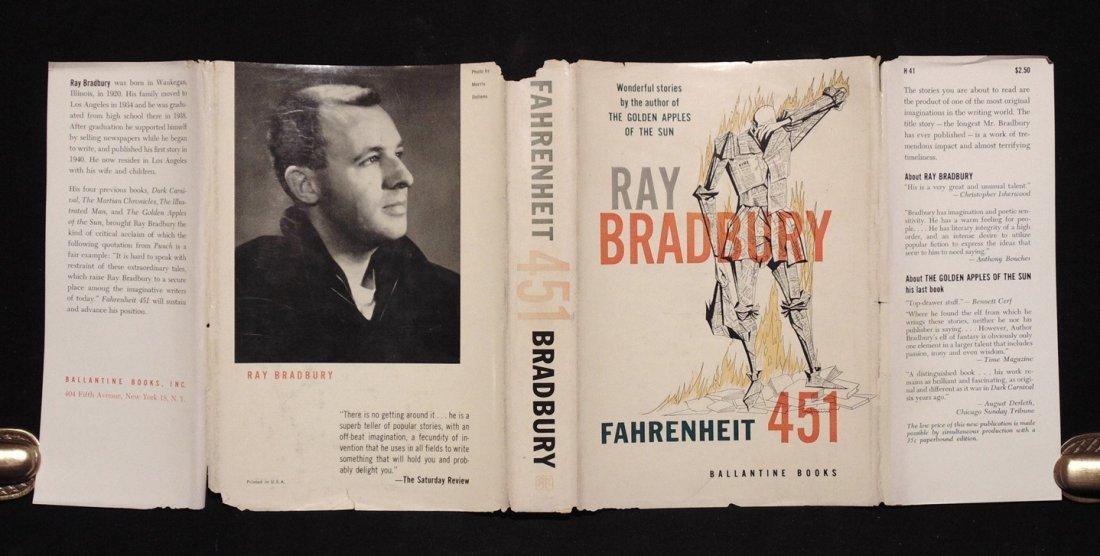 Bradbury, Ray.  Fahrenheit 451 - 4