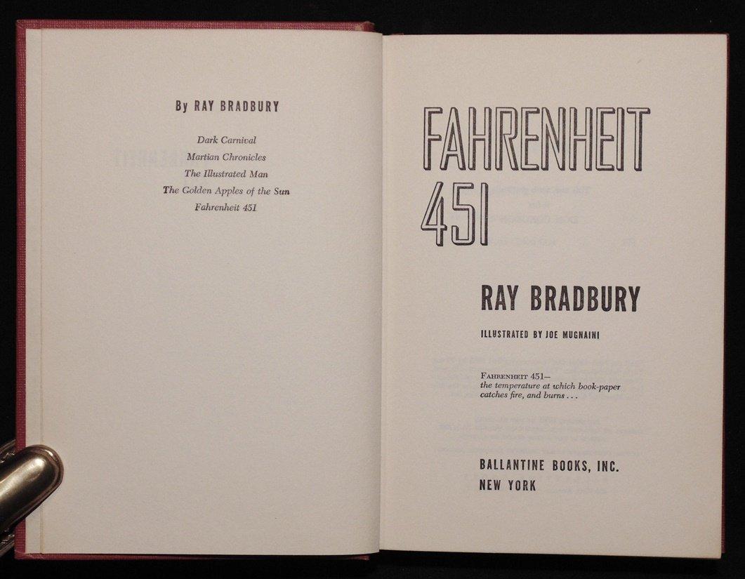 Bradbury, Ray.  Fahrenheit 451 - 6