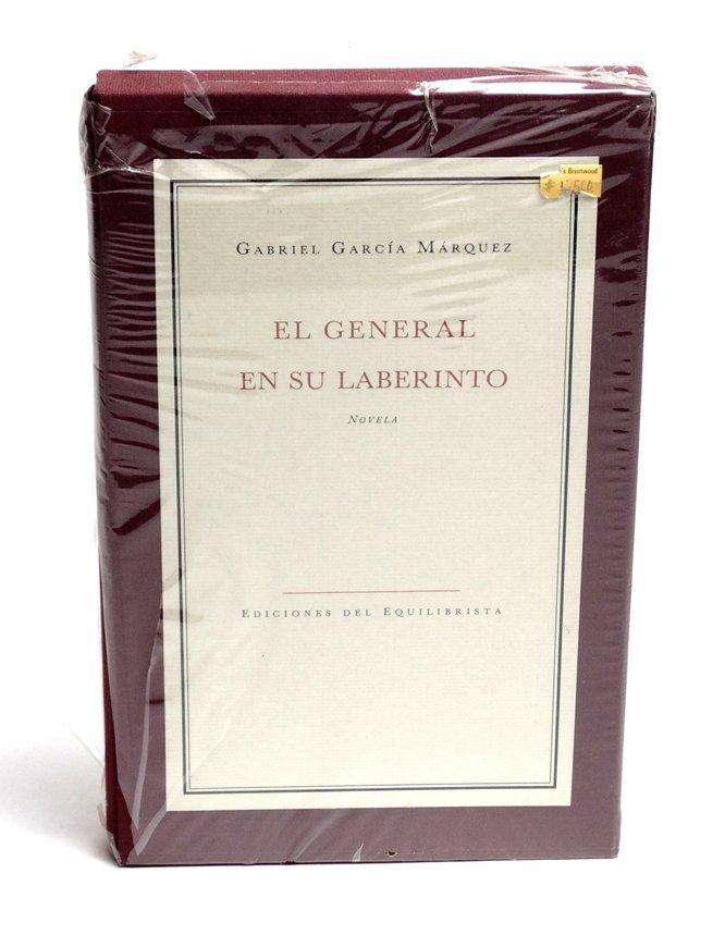 Garcia Marquez. El General en su Laberinto SIGNED - 2