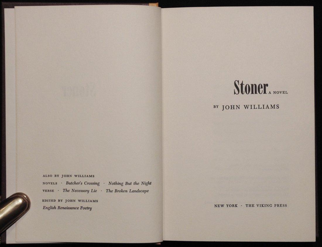 Williams, John.  Stoner.  [1st Ed.] - 5