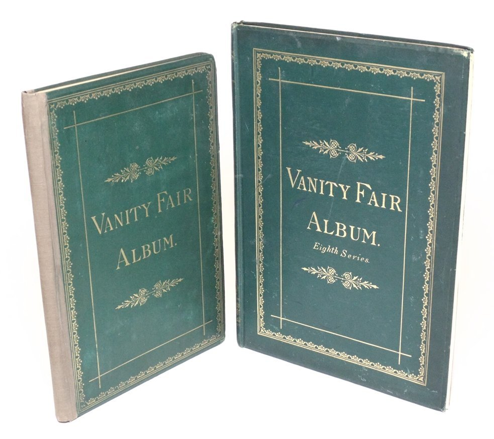 [Caricatures, Lithographs] Vanity Fair Albums - 2