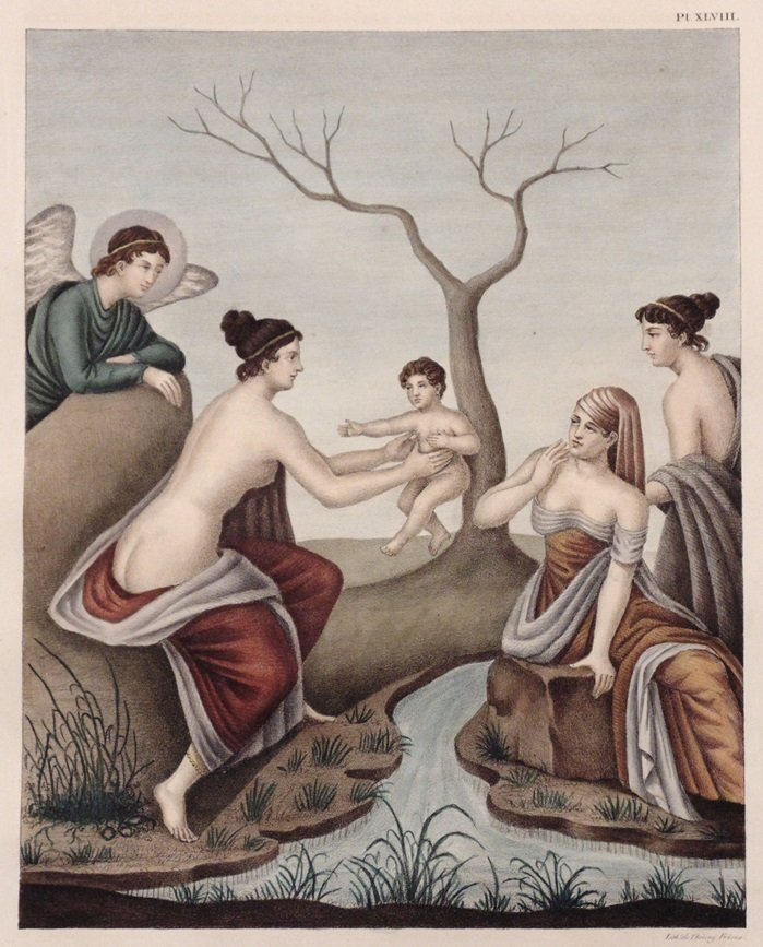 Raoul-Rochette.  Monumens d'Antiquite Figuree