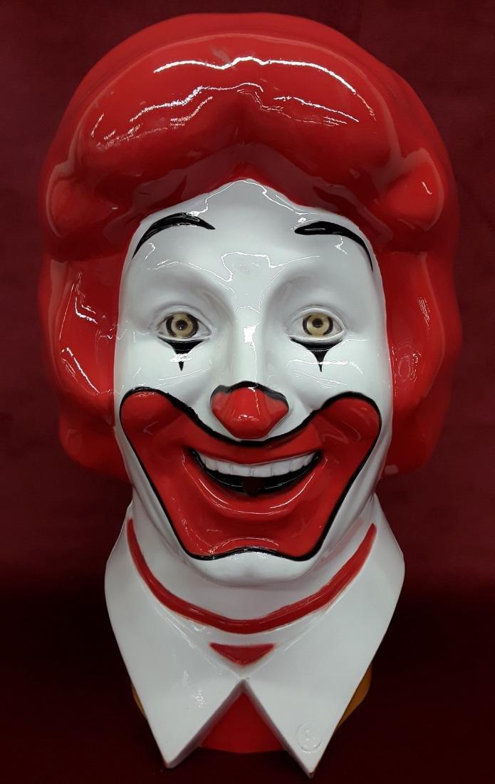 1977 Ronald McDonalds Helium Tank Cover