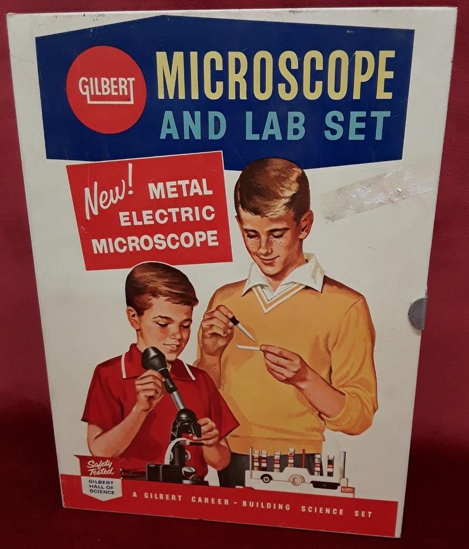 Gilbert Microscope and Lab Set