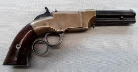 Very Early 41 Cal. Rim Fire Volcanic Pocket Pistol