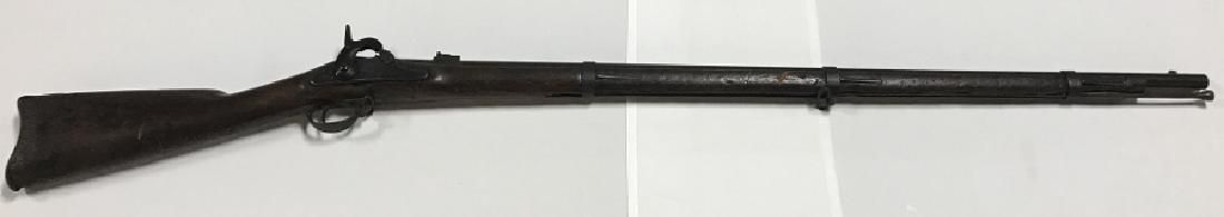 US Springfield Dated 1862 Civil War Musket 58 Cal.