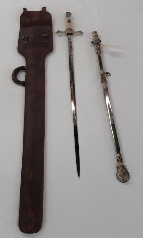 Knights Templar Masonic Sword and Scabbard-York Rite
