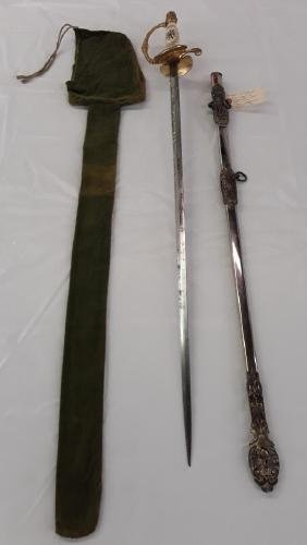 Knight of Pythias with Scabbard