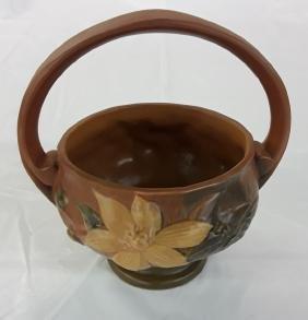 Roseville Basket Zephyr Lily