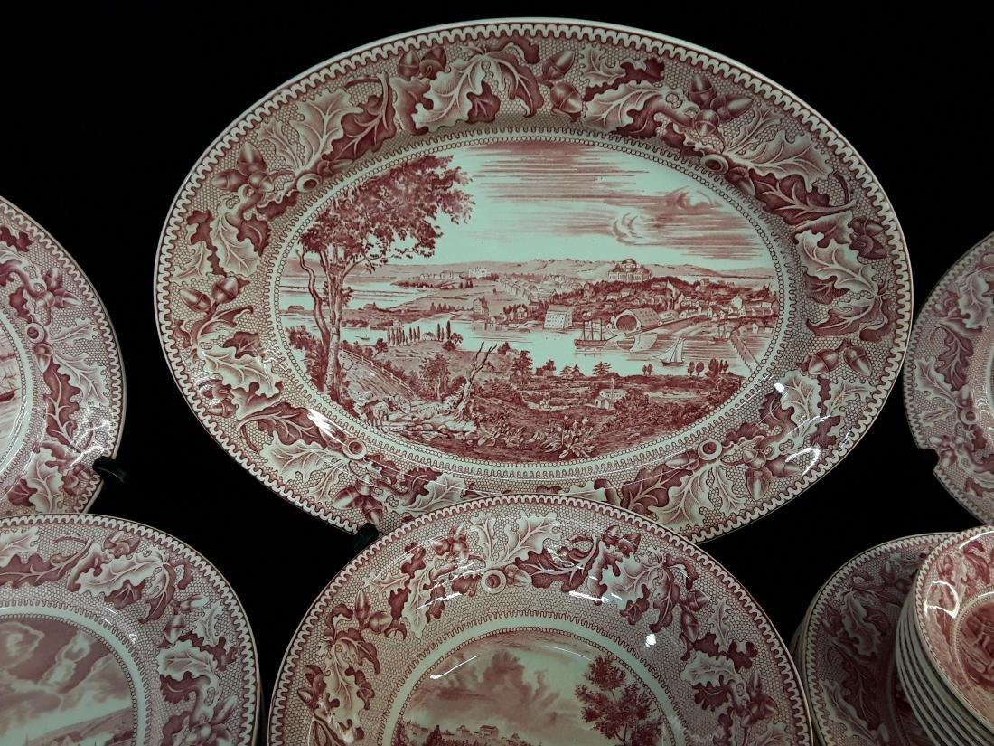 65 Pcs of Johnson Bros England- History American China - 2