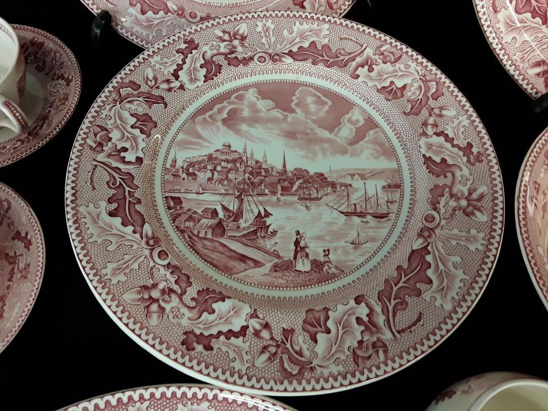 65 Pcs of Johnson Bros England- History American China - 3