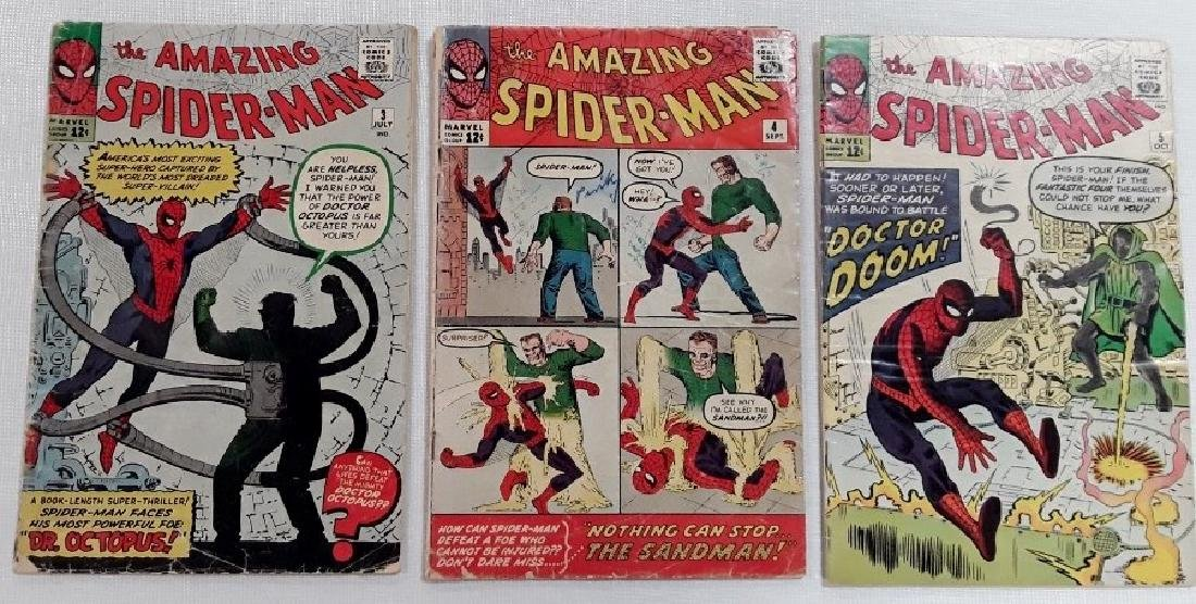 The Amazing Spider-Man Issues #3,4,&5