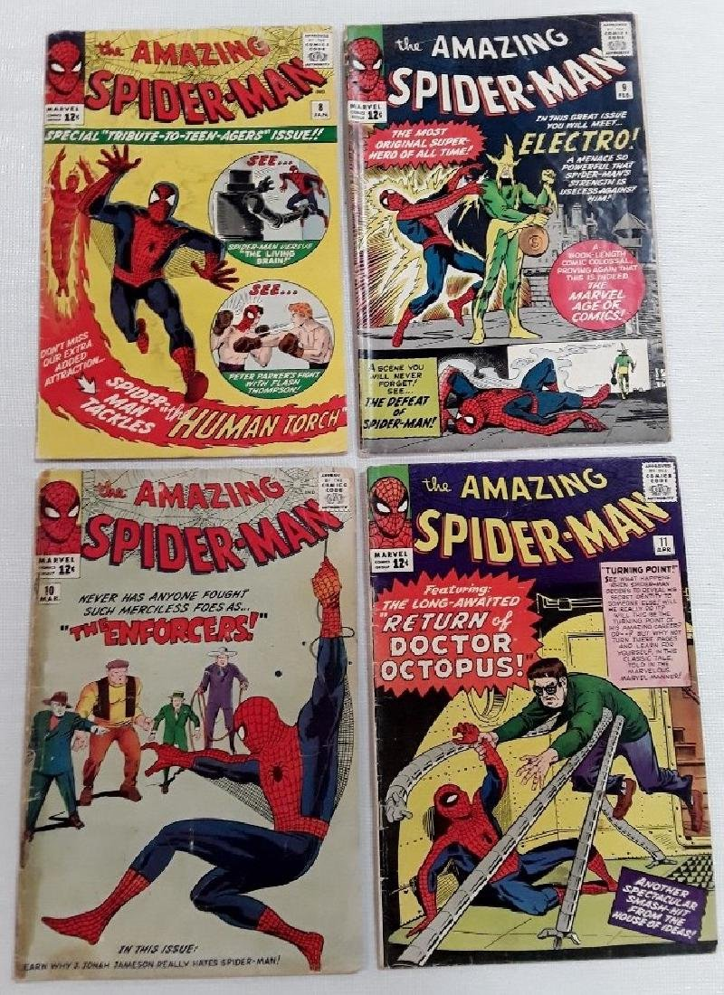 The Amazing Spider-Man Issues #8,9,10,&11