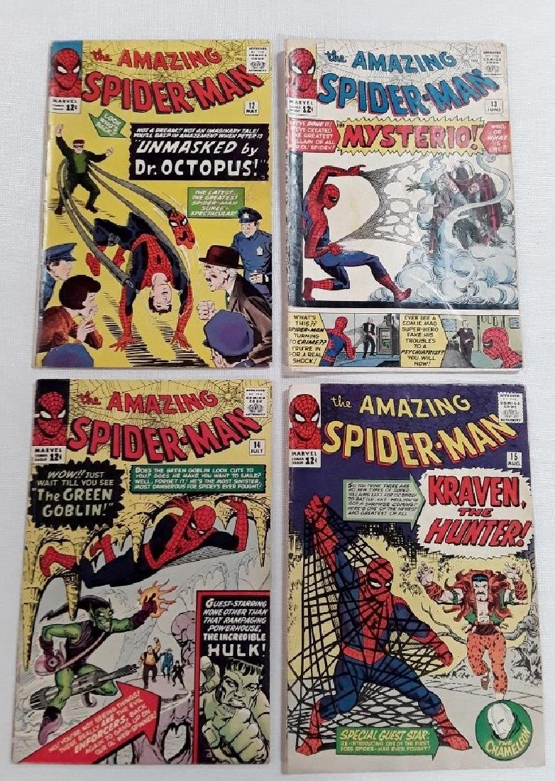 The Amazing Spider-Man Issues #12,13,14,&15
