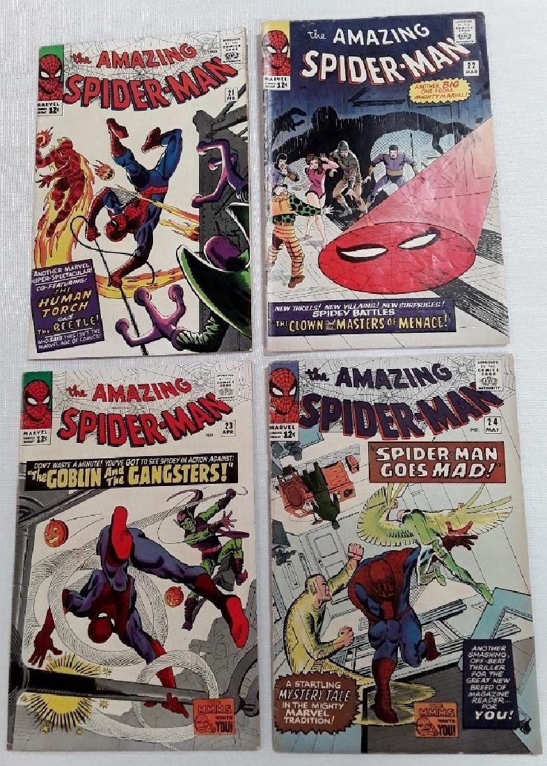 The Amazing Spider-Man Issues #21,22,23,&24