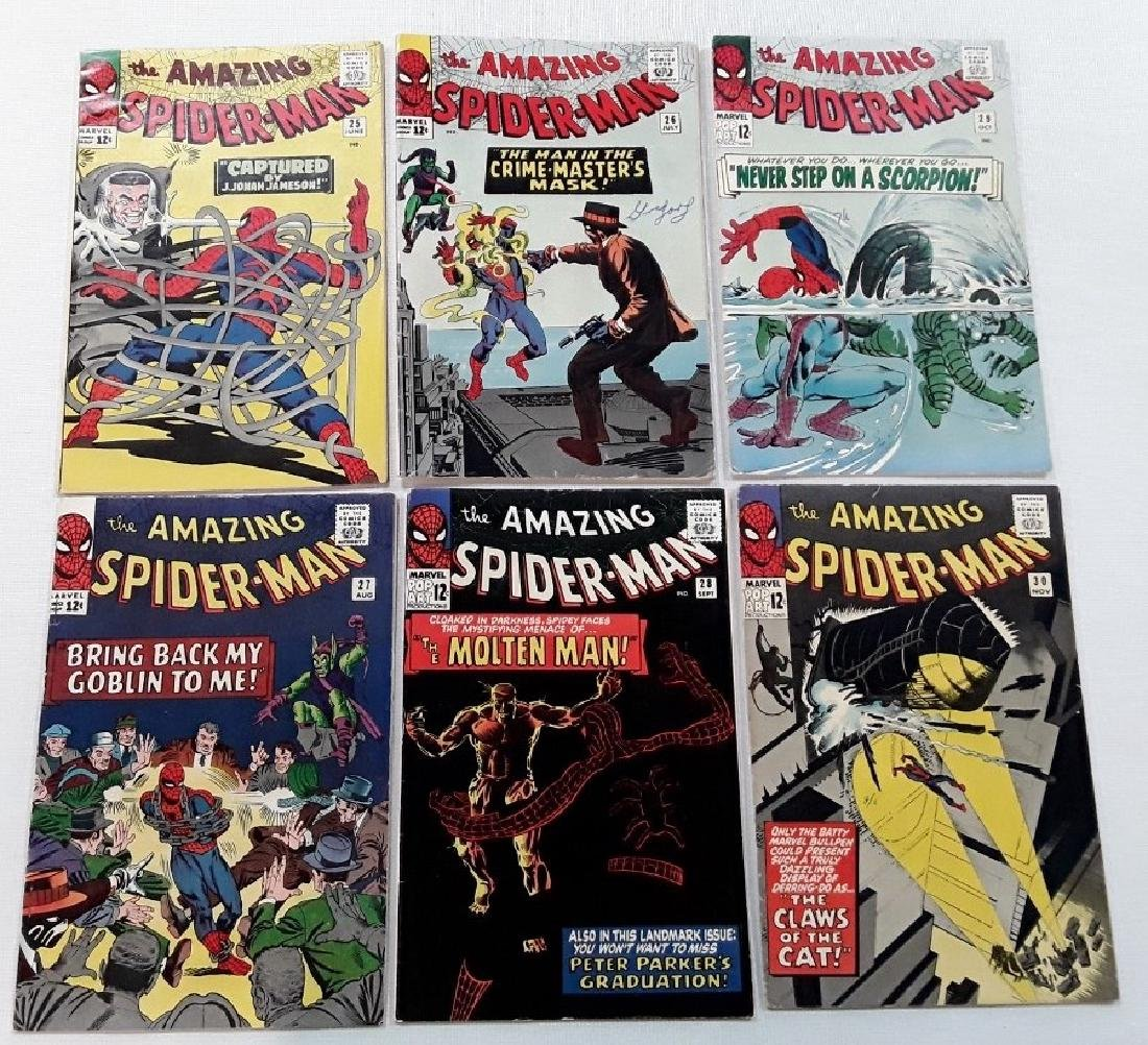 The Amazing Spider-Man Issues #25,26,27,28,29,&30
