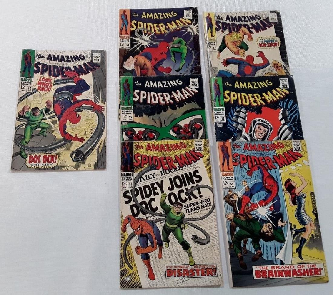 The Amazing Spider-Man Issues #53-59