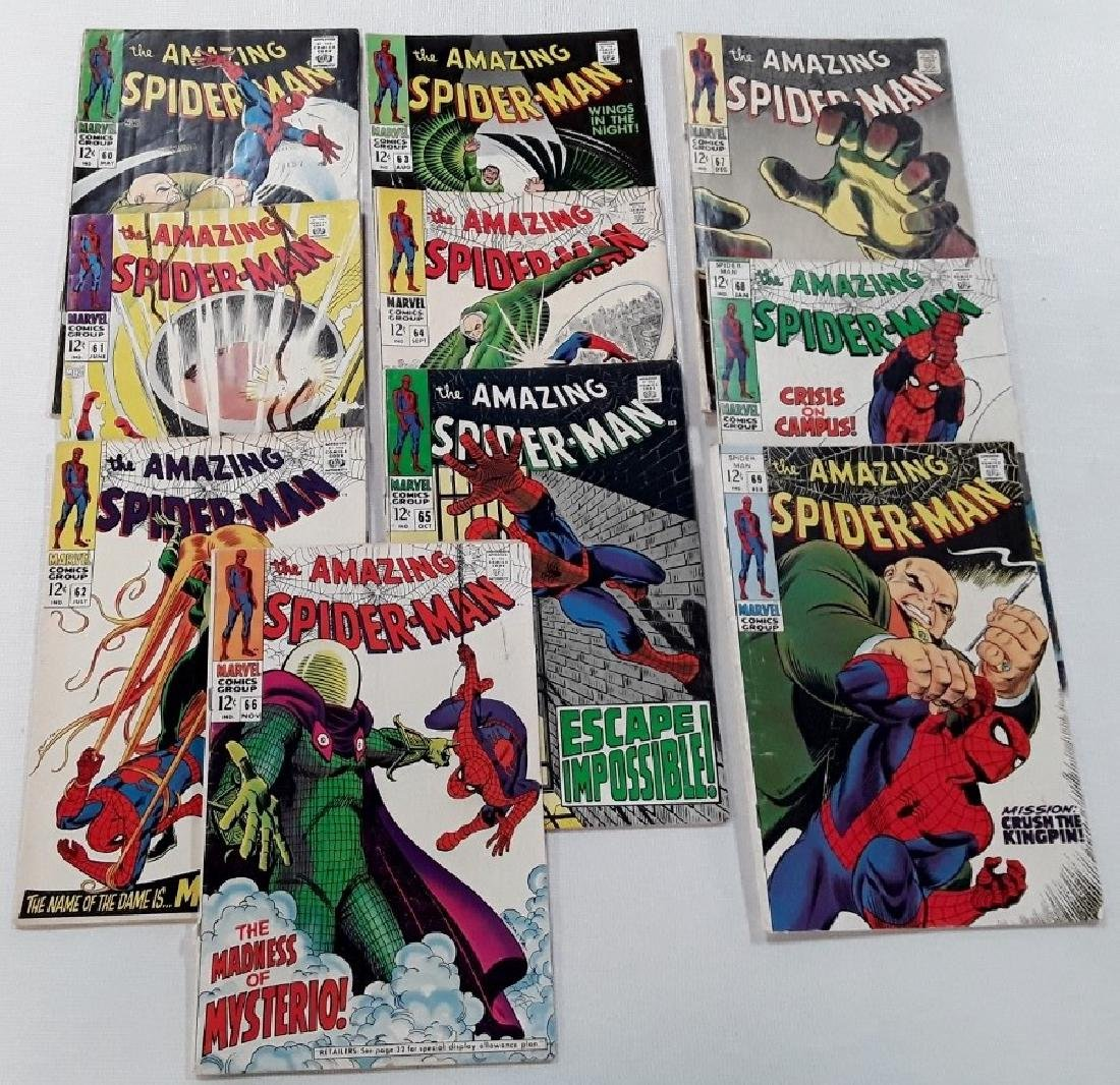 The Amazing Spider-Man Issues #60-69