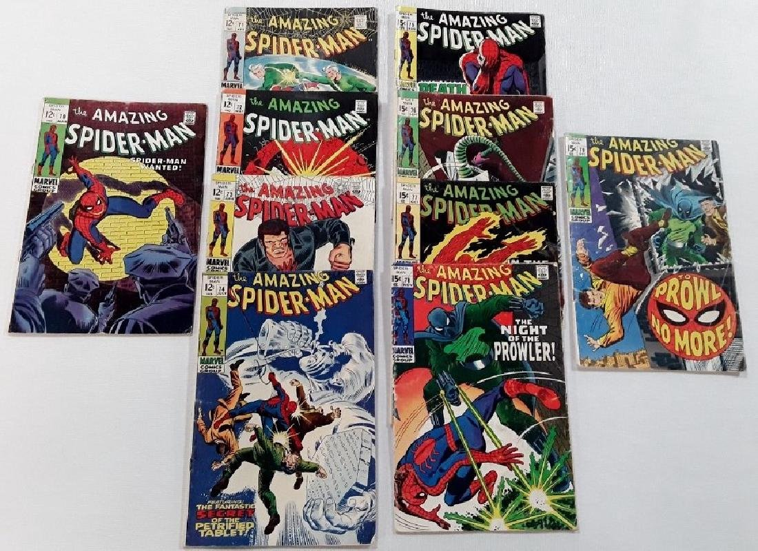 The Amazing Spider-Man Issues #70-79