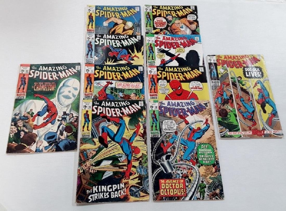 The Amazing Spider-Man Issues #80-89
