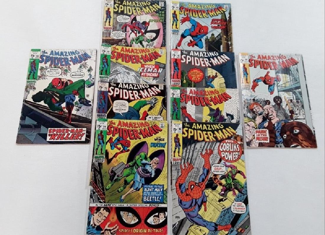 The Amazing Spider-Man Issues #90-99